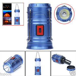 COB LED Camping Lantern Tent Lamp Portable Outdoor Fishing Bright Night Light