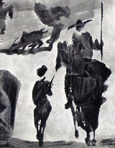 PABLO-PICASSO-FINE-PRINT-with-COA-Uniquely-Haunting-Rare-Pablo-Picasso-1960-Art