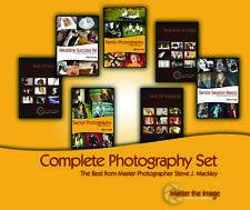 COMPLETE DIGITAL PHOTOGRAPHY COURSE POSING 7 DVD SET cc