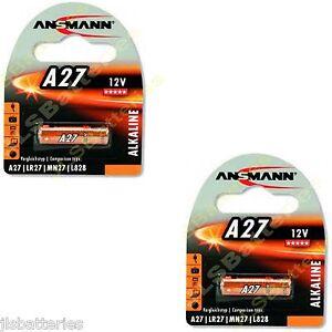 2-x-ANSMANN-PILAS-ALCALINAS-A27-MN27-27A-12v-E27A-EL812-L828-G27A