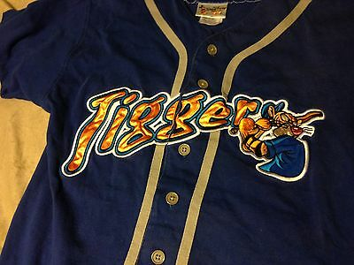 Disney Tigger Baseball Shirt Jersey Youth Boys XL (14/16)