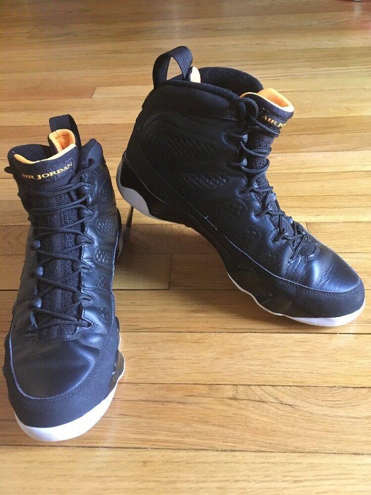 Air Jordan IX AJ 9 Black And Citrus White 302370-004 US Comfortable The most popular shoes for men and women
