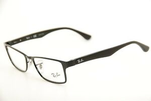 43c2ab6885d New Authentic Ray Ban RB 6238 2509 Black Silver 53mm Frames ...