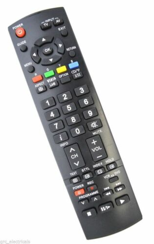 New Replacement EUR Remote Control for Panasonic TH42PZ800B TH46PZ81B TH50PZ81B