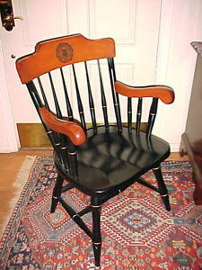 University of chicago vintage windsor chair alumni ebay for Hathaway furniture new york