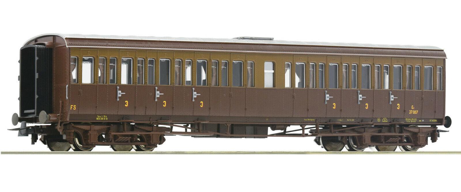ROCO h0 74686vetture passeggeri 3. classee, FS, ep. III Merce Nuova