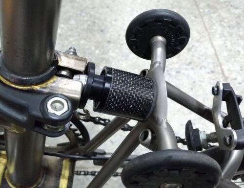 Carbon Air Pressure Suspension Block for Brompton Bicycle