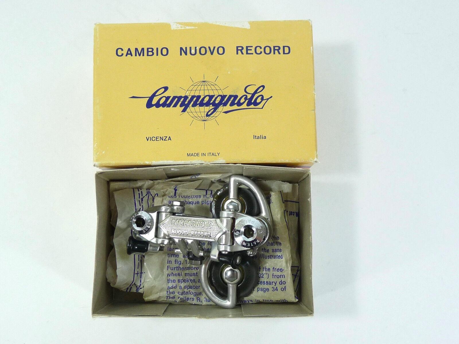 Campagnolo Nuovo Record Rear Derailleur 1978 Vintage Road Racing Bicycle NOS