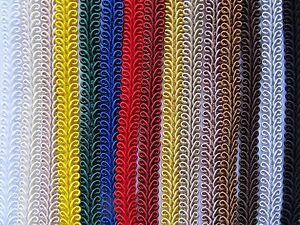 SILKY-SCROLL-GIMP-BRAID-50-METRE-REEL-Trim-for-Upholstery-Furnishings-Costumes