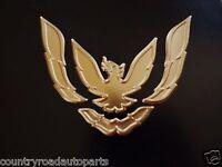 1993-1994-1995-1996-1997 Pontiac Firebird-trans Am Front Bumper Emblem-gold.