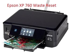Details about EPSON XP-760 PRINTER WASTE INK PAD RESET DISC NEW