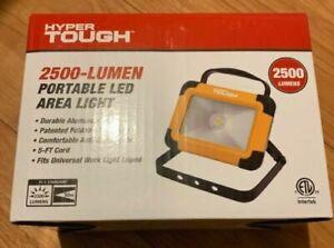 Portable Led Area Light Hyper Tough 2500 Lumen With 360 Swivel Handle