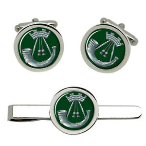 Somerset-and-Cornwall-Light-Infantry-British-Army-Cufflinks-and-Tie-Clip-Set