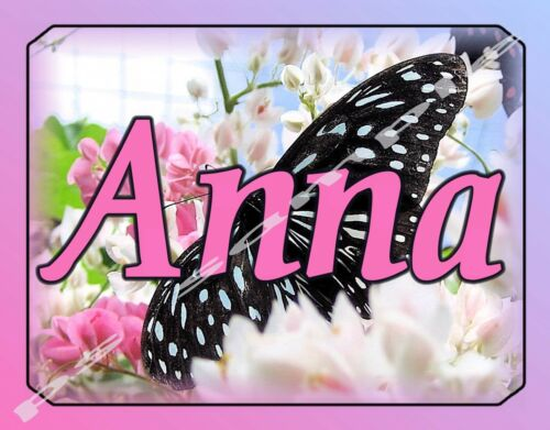 Personalized FREE Flexible Fridge Magnet BUTTERFLY