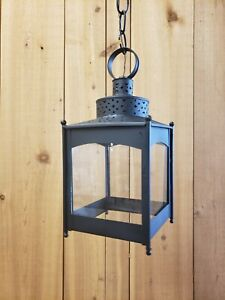 Details About Period Lighting Fixtures Model L308 Hanging Lantern In Black Finish