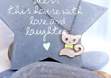New Animal-themed Necklace Costume Jewellery Acrylic Cute Cat Long Necklace