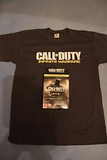 CALL OF DUTY: INFINITE WARFARE Promo BOX with T-SHIRT L Size + DLC Hell tempest