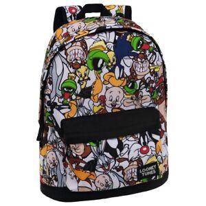 32x42x16 Tunes Zaino Unisex Multicolor Cartoons Ca Looney Cm Adattabile Backpack qq7FY5