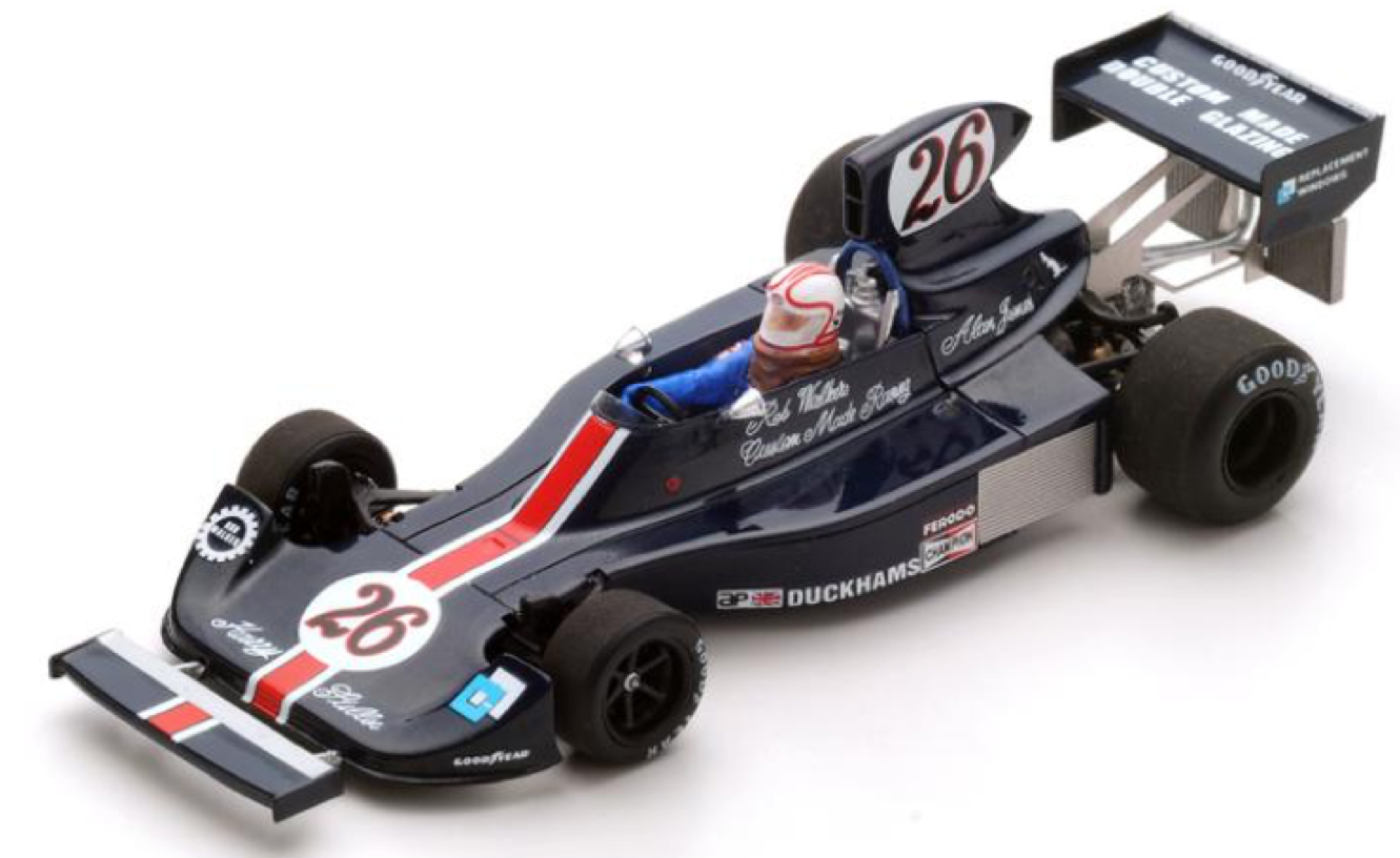 Spark models models models S2240 1/43 HESKETH 308 #26 1975 MONACO GP Alan Jones modèle F1 | être Nouvelle Dans La Conception  6165e2