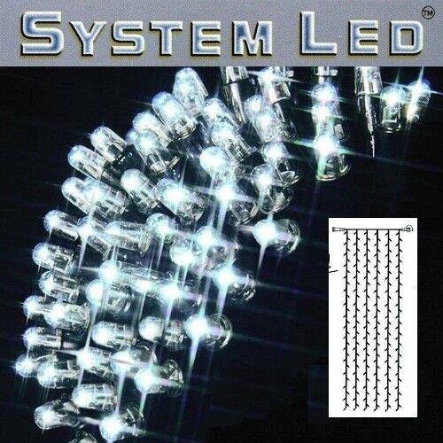 System System System LED Lichtervorhang 204er 1x4m cool light   schwarz 465-58-14  | Auf Verkauf  f674e7