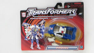 Hasbro Transformers 2001 Robots In Disguise (Super) Prowl MOSC