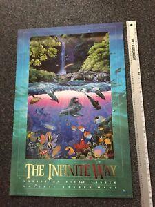 Christian-Lassen-24-X-36-Art-Poster-INFINITE-WAY-1992-Lassen-Pub-Excellent