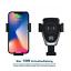 Qi-Sans-Fil-Station-Sans-Fil-Chargeur-et-support-pour-telephone-portable-de-voiture-iPhone miniature 1