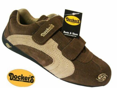 DOCKERS Halbschuh Sneaker 227202-001046 braun-beige