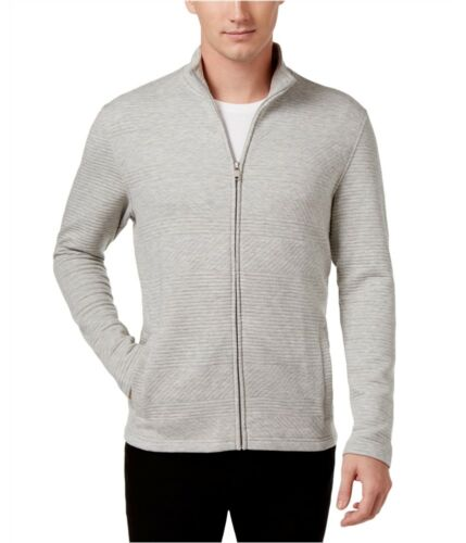 X-Large grey Alfani Mens Textured Sweatshirt