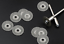 10PCs 16mm Dia Diamond Cut Off Cutting Disc Wheel Disc fits Power Die Grinder