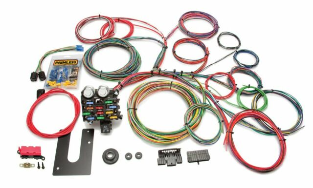 Painless Wiring 10102 Classic Customizable Chassis Harness - Key In Dash - 21 Ci