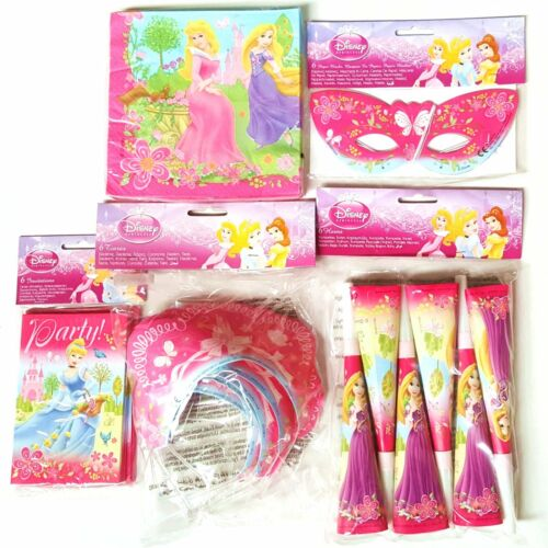 Celebration Disney Princess Party Pack for 6 People Birthday
