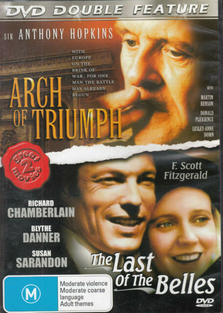 DVD Arch Of Triumph / Last Of The Belles DVD All Zone Hopkins / Chamberlain NEW