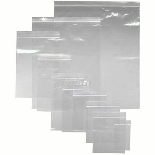 "Clear Self Seal Grip Lock Bags 3 x 3.25/"" x 100 Bags"