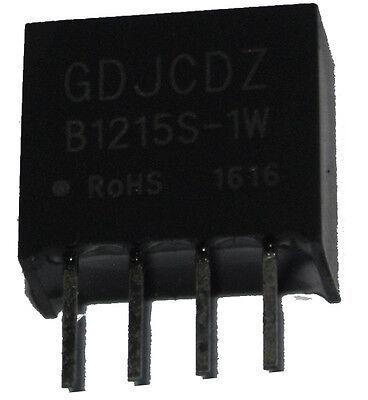 2x B1212S-1W 12V 1Watt DC-DC Wandler />1kV galvanisch isoliert High Side MornSun