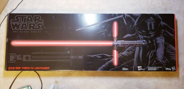B3925 The Black Series Kylo Ren Force FX Lightsaber #04 In Box Hasbro Star Wars