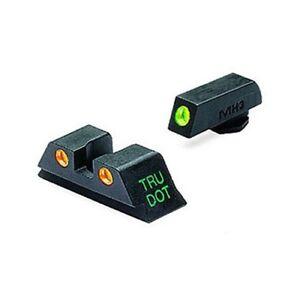 Meprolight-Glock-Tru-Dot-Sights-9mm-357-Sig-40-S-amp-W-45-GAP-Green-Orange-Fix