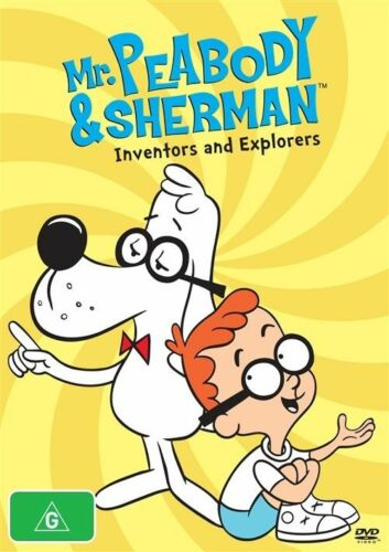 1 of 1 - Mr Peabody & Sherman - Inventors & Explorers (DVD, 2014)
