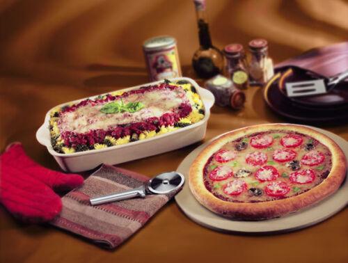 RADA Pizza Cutter R121 Aluminum W221 Black PROUDLY MADE IN USA
