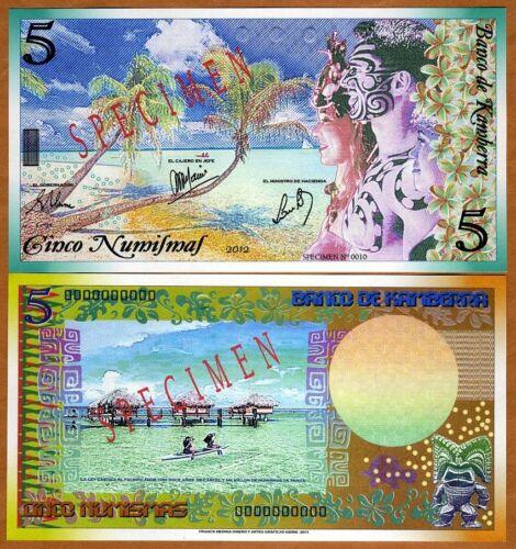 5 Numismas Kingdom UNC /> Polynesian Exotism TYPE 1 2012 Kamberra SPECIMEN