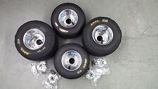 Go Kart Wheels, Go Kart Tires, Radio Flyer Wagon Tires, w/wheel hubs, Set of (4)
