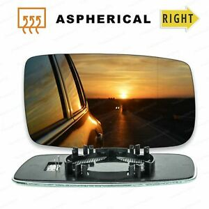Right Driver Side Wing Door Mirror Glass for PEUGEOT BIPPER 2008-2017