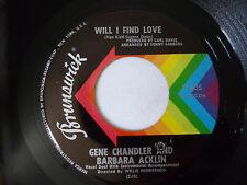"""GENE CHANDLER & BARBARA ACKLIN ~ LITTLE GREEN APPLES ~ VG+ 1969 US SOUL VINYL 7"""""""