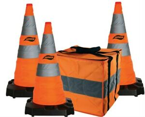 Aervoe-Orange-Emergency-Construction-Traffic-Reflective-Collapsible-Safety-Cones