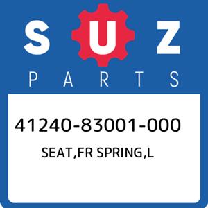 41240-83001-000-Suzuki-Seat-fr-spring-l-4124083001000-New-Genuine-OEM-Part