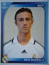 Panini 442 Guti Real Madrid UEFA CL 2008/09