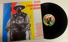 "Various ""L'Avanguardia Di Chicago"" LP Black Saint BSRMJ-001 ITALY 1990"
