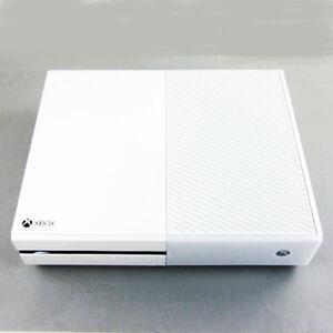 originale xbox one console con 500 gb disco rigido senza tutto in bianco model 1540 ebay. Black Bedroom Furniture Sets. Home Design Ideas