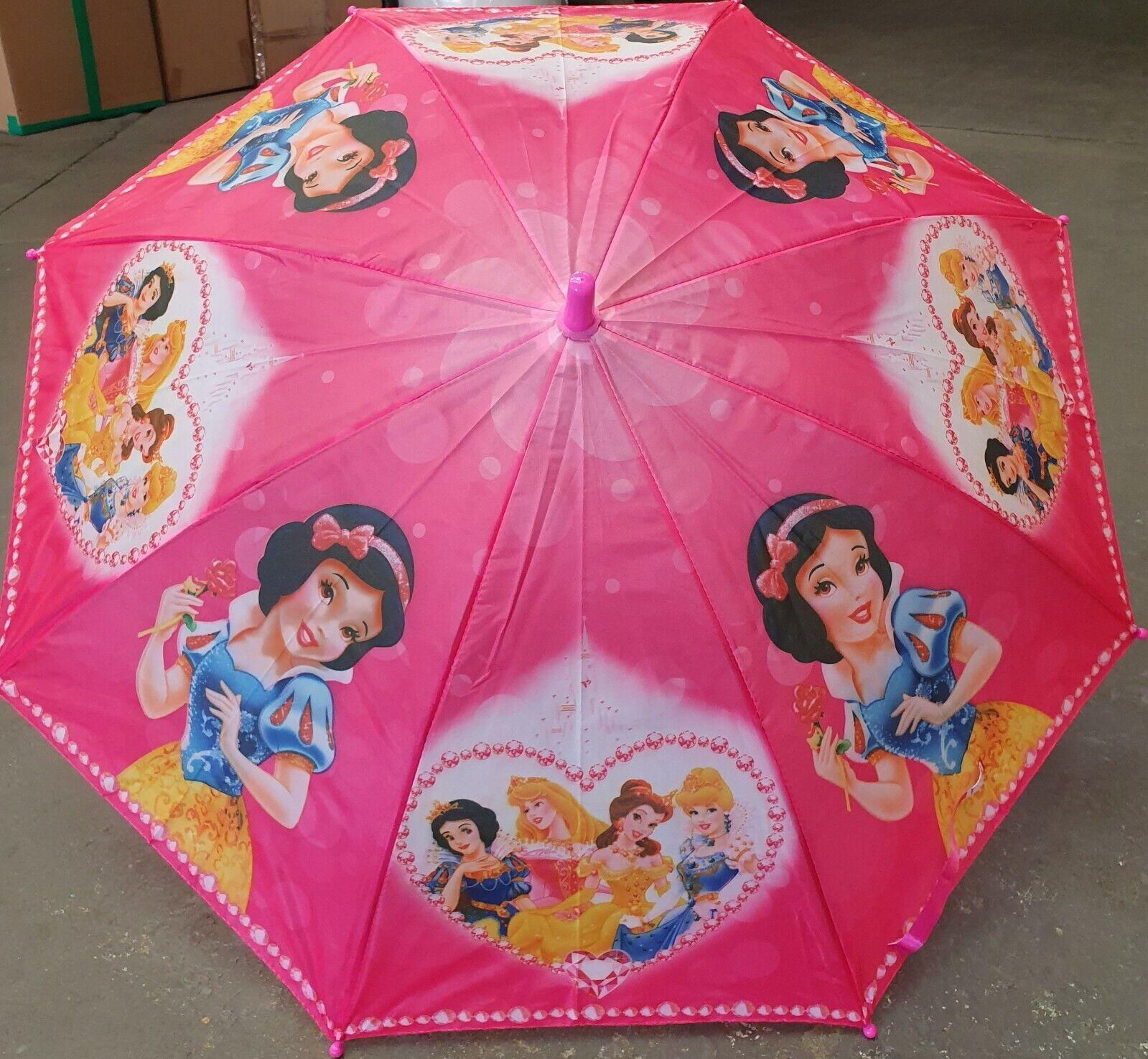 Disney Princess Girls Kids Umbrella Kids Gift + whistle
