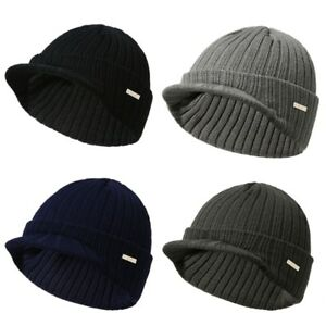 0cce8857bd9 Mens Womens Winter Beanies Hat Skullies Winter Warm Knitted Cap With ...